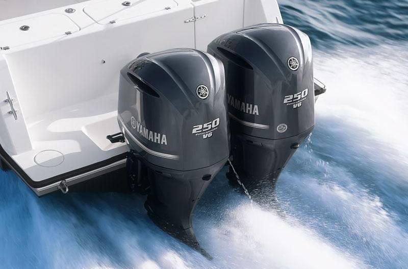 2017 Yamaha F250 V6 4 2L - 25 in  Shaft for sale in