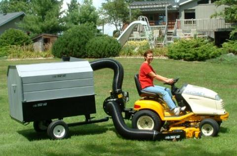 Residential Lawn Vacuums Liberty Discount Lawn Equipment