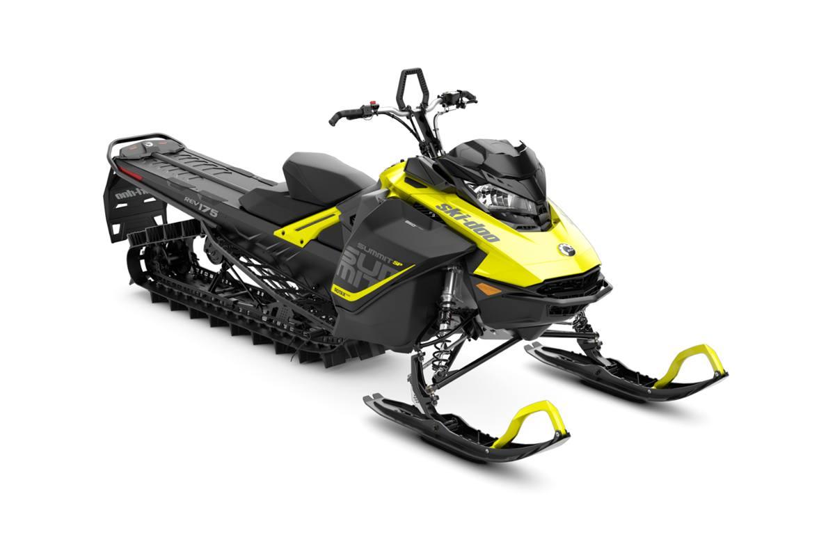 2018 ski-doo summit� sp 850 e-tec� 175 shot - sunburst yellow