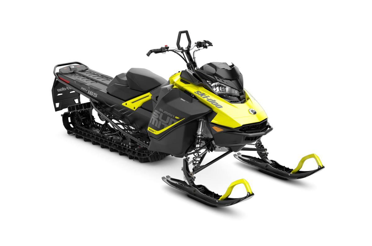 2018 ski-doo summit� sp 850 e-tec� 165 es - sunburst yellow