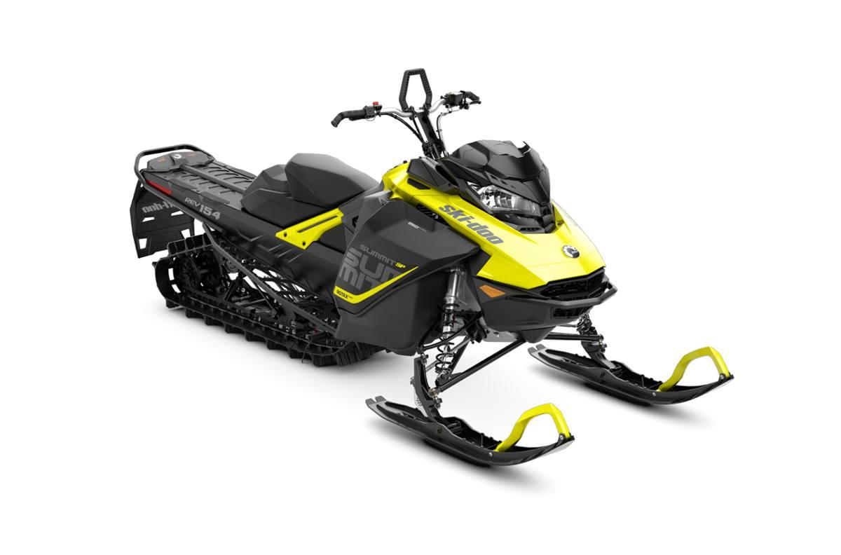 2018 ski-doo summit� sp 850 e-tec� 154 es - sunburst yellow