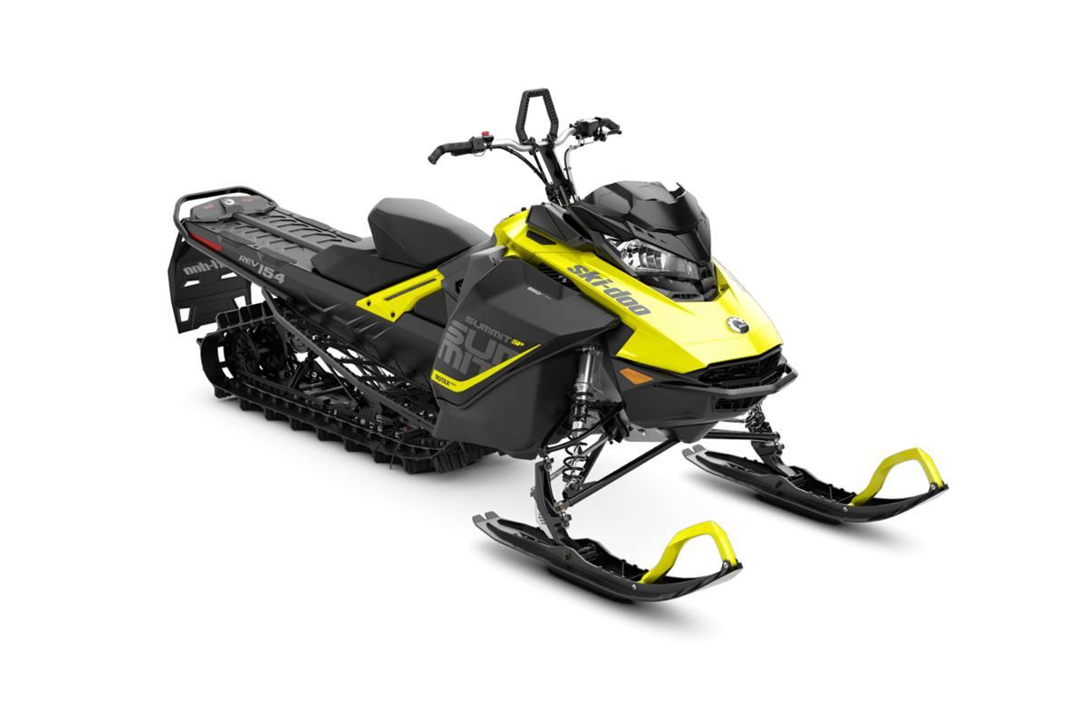 2018 ski-doo summit� sp 850 e-tec� 154 shot - sunburst yellow