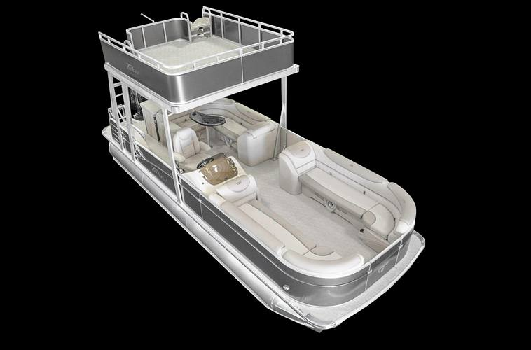 2017 Tahoe Pontoons Cascade Funship 25 for sale in Erskine