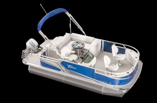 2017 Tahoe Pontoons LT Bow Fish 18 for sale in Detroit, ME