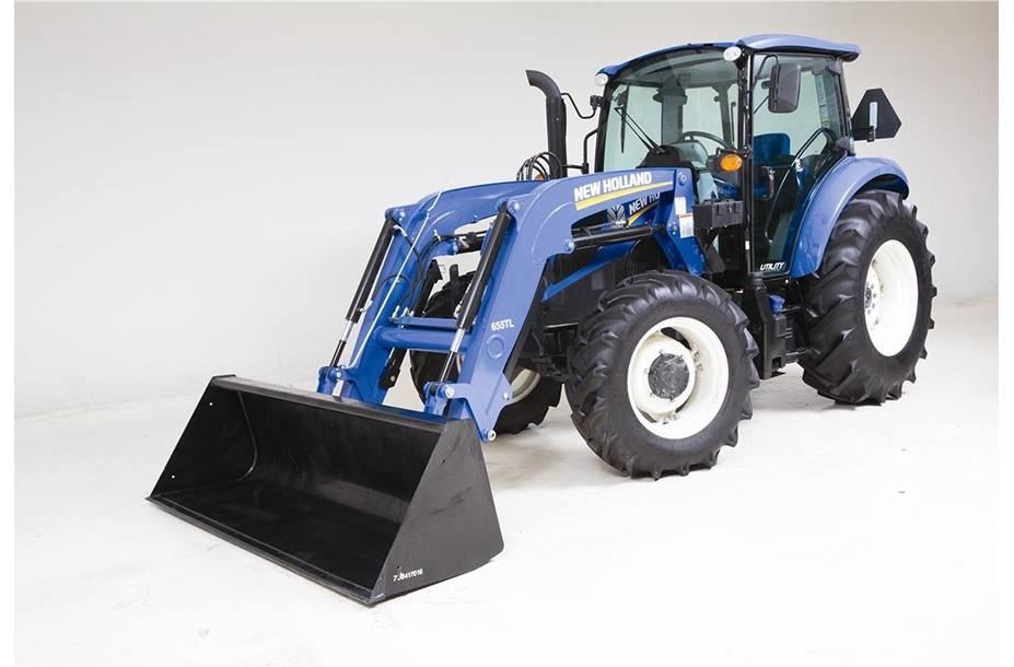 2017 New Holland Agriculture T4 Series – Tier 4B T4 120 for
