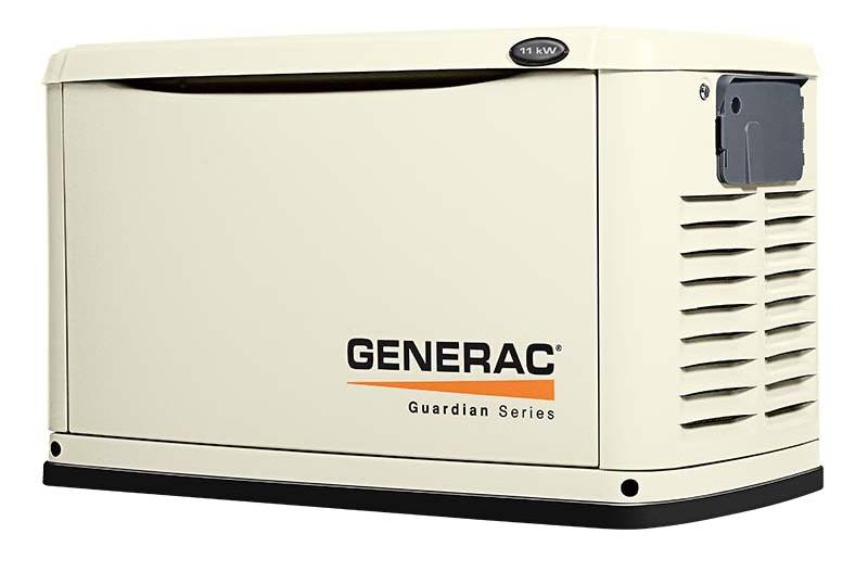 2017 Generac Guardian 11kw With 12 Circuit Switch Model 6437