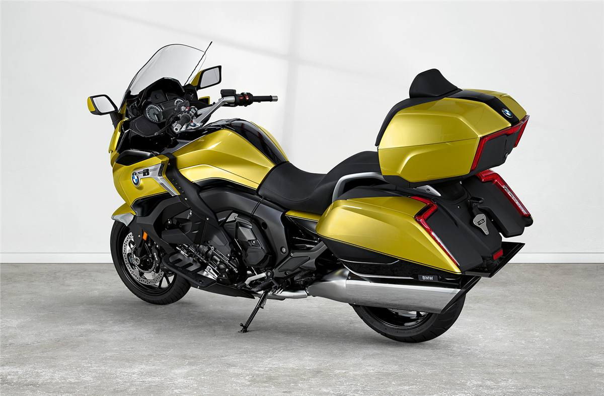 2018 BMW K 1600 Grand America - Austin Yellow/Black Storm