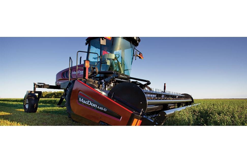 2017 MacDon Industries M205 M Series Self-Propelled Windrower for