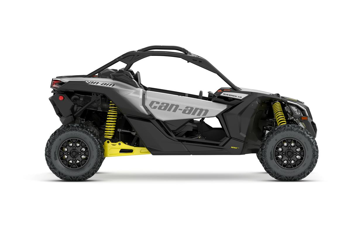 Item 2018 Can Am Maverick X3 Turbo Hyper Silver Yellow Locationid 24991