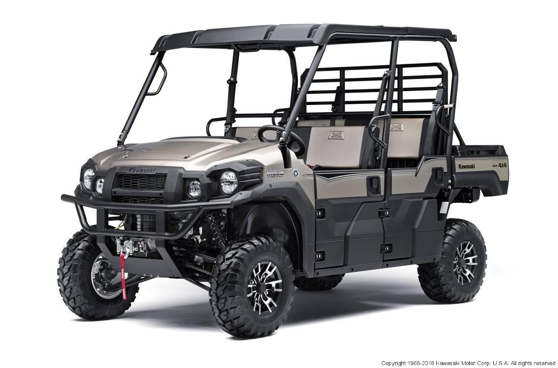 2018 Kawasaki MULE PRO FXTTM Ranch Edition