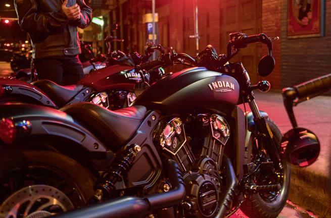 2018 Indian Motorcycle Indian® Scout® Bobber ABS - Thunder Black Smoke