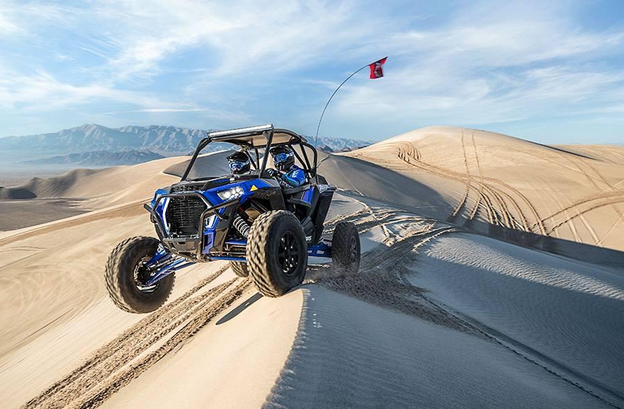 2018 Polaris Industries RZR XP® Turbo S - Polaris Blue