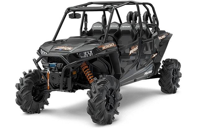 2018 Polaris Industries RZR XP® 4 1000 EPS High Lifter Edition - Stealth  Black
