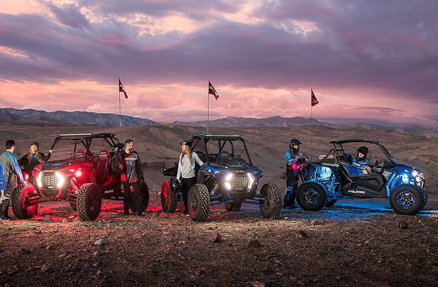 2018 Polaris Industries RZR XP® Turbo S - Polaris Blue