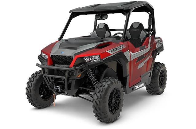 Item 2018 Polaris Industries Polaris General 1000 Eps Ride Command Edition Matte Sunset Red Locationid 25493