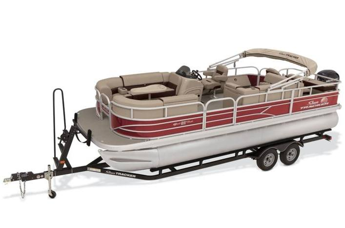Sun Tracker Fishing Pontoons