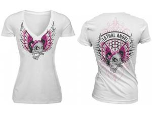 LETHAL ANGEL EMBLEM SHORT SLEEVE TEE