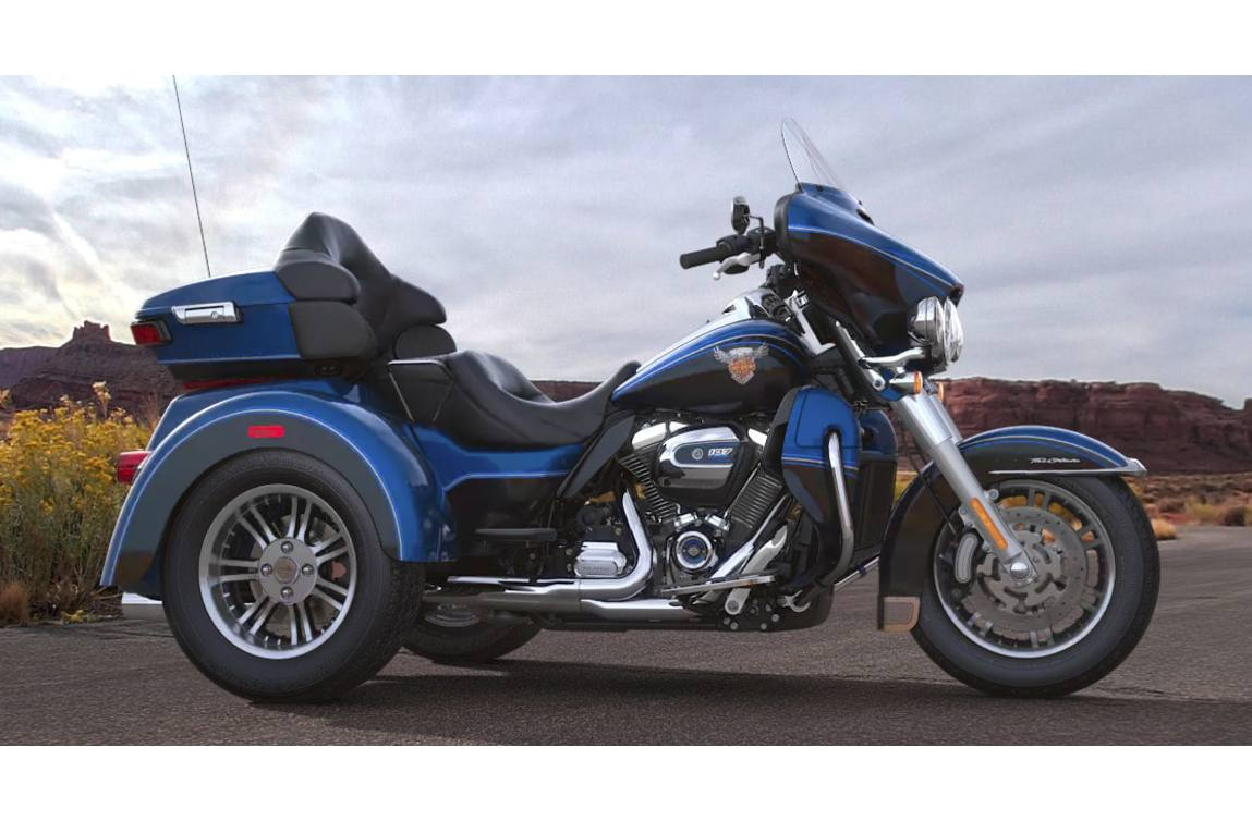 2018 Harley-Davidson® Tri Glide® Ultra - Anniversary Color Option