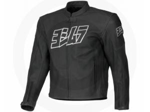 YOSHIMURA LOGO LEATHER JACKET