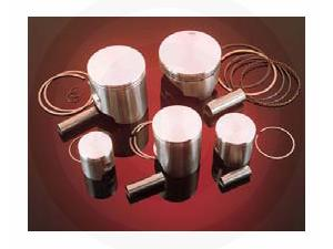 HIGH-PERFORMANCE 2- AND 4-CYCLE MOTORCYCLE PISTON