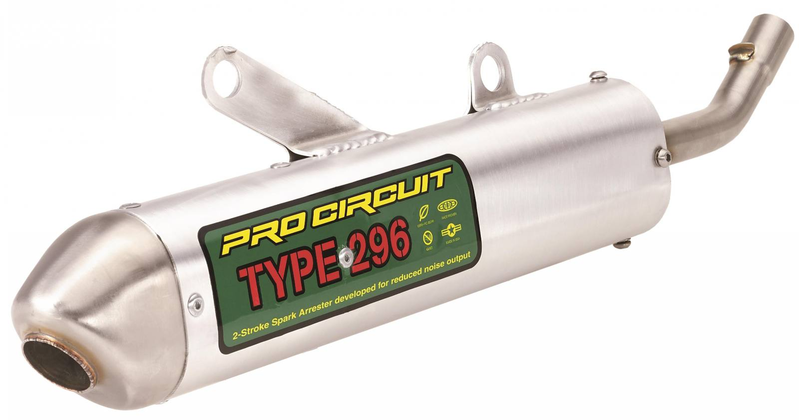 Type 296 Spark Arrester Silencer For Sale In Chico Ca Pro Circuit T4 Complete Exhaust System Motosport Motorsports 800 356 4735