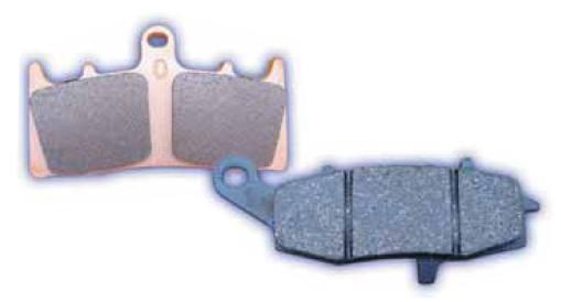 EBC Carbon X Brake Pads Yamaha YFZ350 Banshee//YTZ250 Tri-Z//YFM350X Warrior