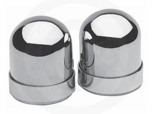 CHROME UPPER SHOCK COVERS