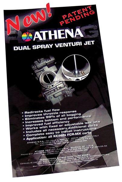 Dual Spray Venturi Jet Kit for Keihin FCR-MX Carburetors