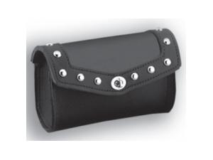 LEATHER FRONT POUCH