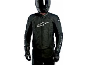 GP-R PERFORATED LEATHER JACKET