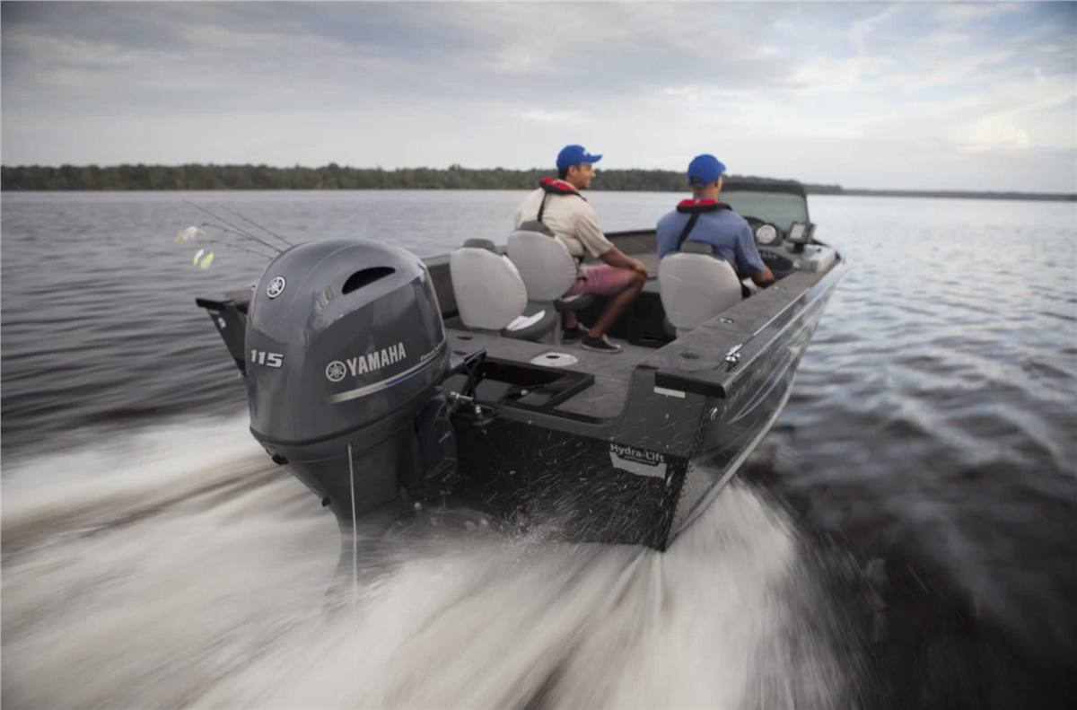 2018 Yamaha F115 - 25 in  Shaft for sale in Duncan, BC