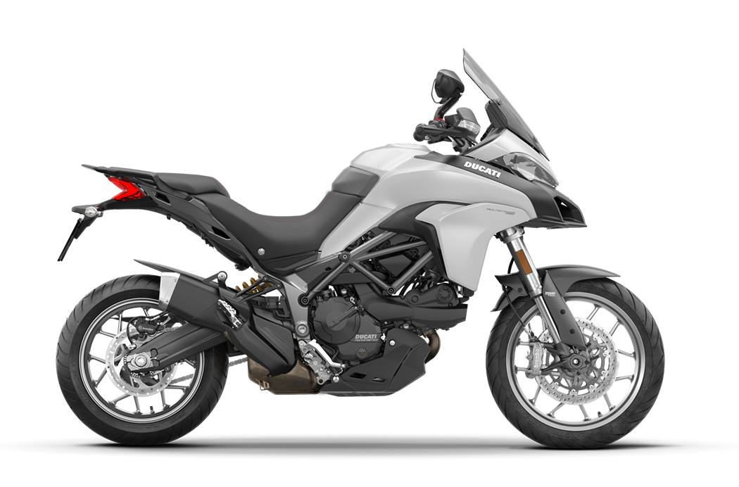 2018 ducati multistrada 950 - star white silk