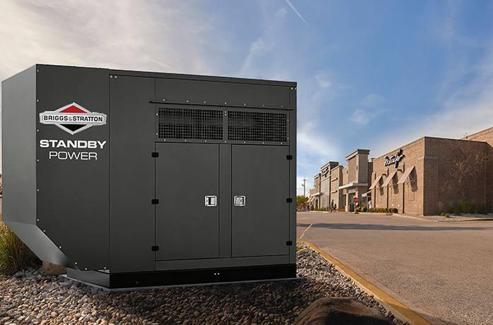 2018 Briggs & Stratton 80kW1 Standby Generator (080000) for