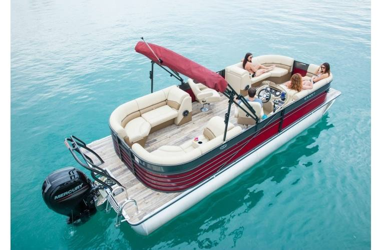 2018 Crest Pontoons Crest III 230 SLRC for sale in St  Clair