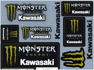 MONSTER ENERGY® STICKER SHEET