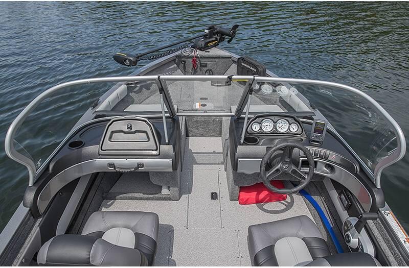 2018 Crestliner 1650 Super Hawk for sale in Grand Rapids, MN. Ray's on