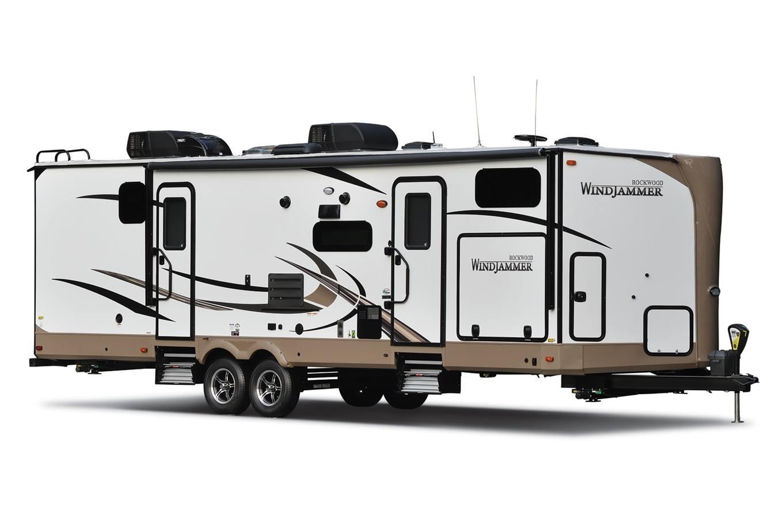 2018 Rockwood by Forest River 3008V Windjammer Travel Trailers for ...