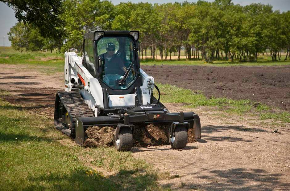 2018 Bobcat Box Blade, Laser Mounting for sale in Luxemburg