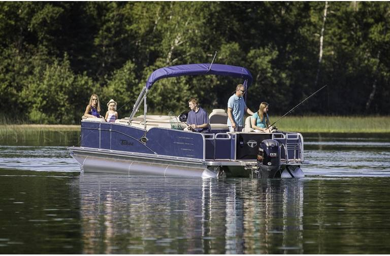 2018 Tahoe Pontoons Cascade Rear Fish 25 For Sale In Osage Beach Mo