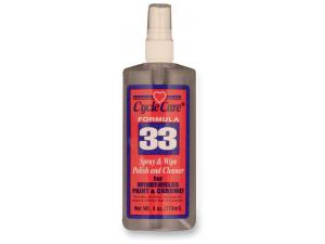 Formula 33 Spray and Wipe, Dry Detailer and Bug Remover