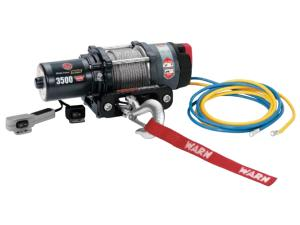 NRA 3,500-LB. WARN WINCH