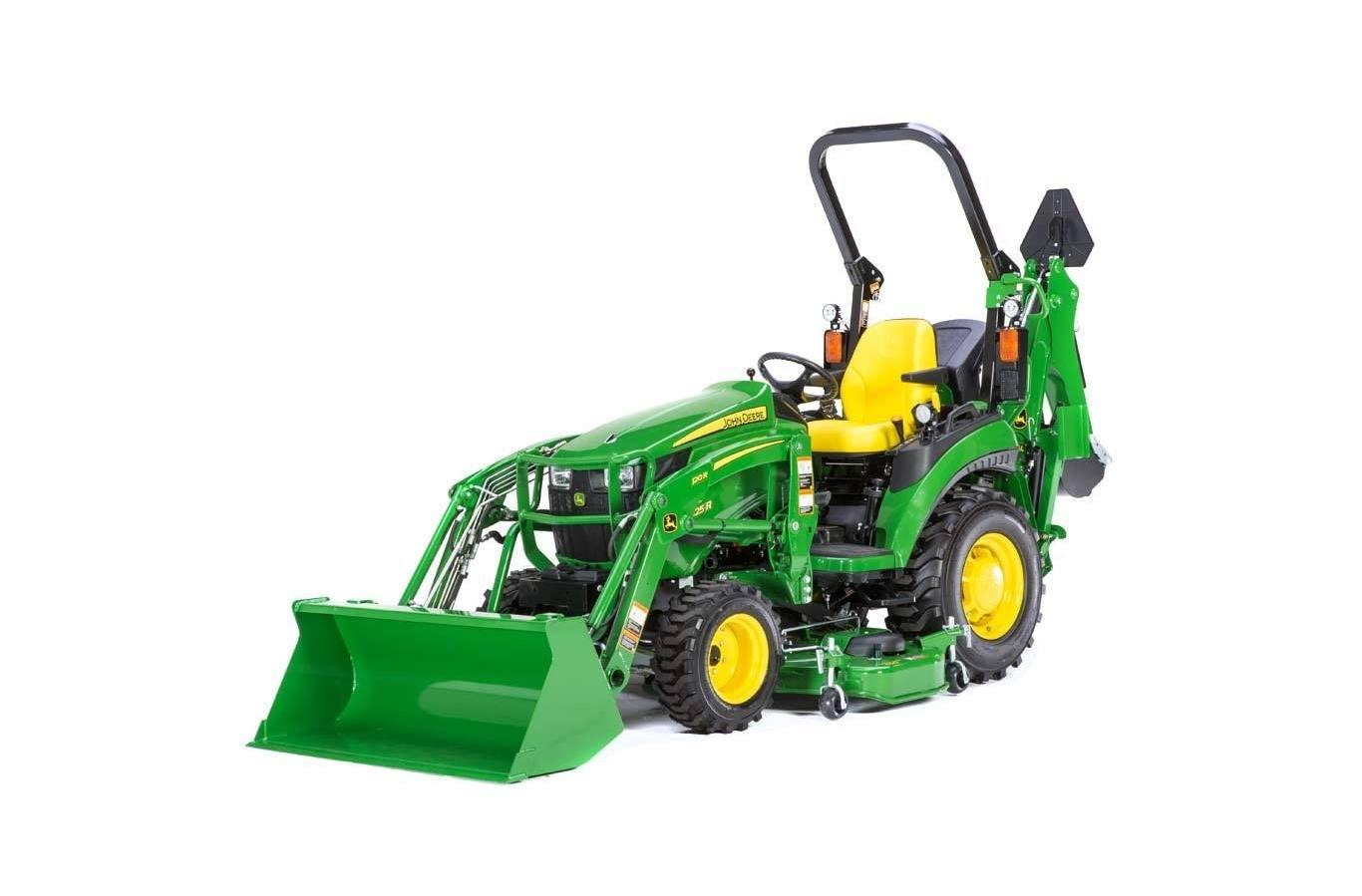 John Deere Lawn Mowers For Sale >> 2018 John Deere 2025r Tractor W 120r Loader