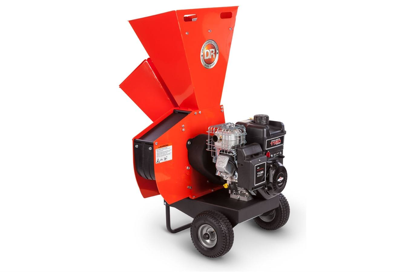2018 DR Power CSR11BM DR Wood Chipper Shredder Manual Start