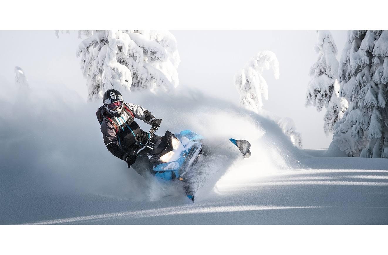 2019 Ski-Doo Summit X 850 E-TEC SHOT 154 Octane Blue & Black