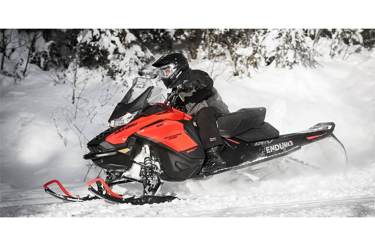 2019 Ski-Doo Renegade Enduro 900 ACE TURBO Lava Red & Black
