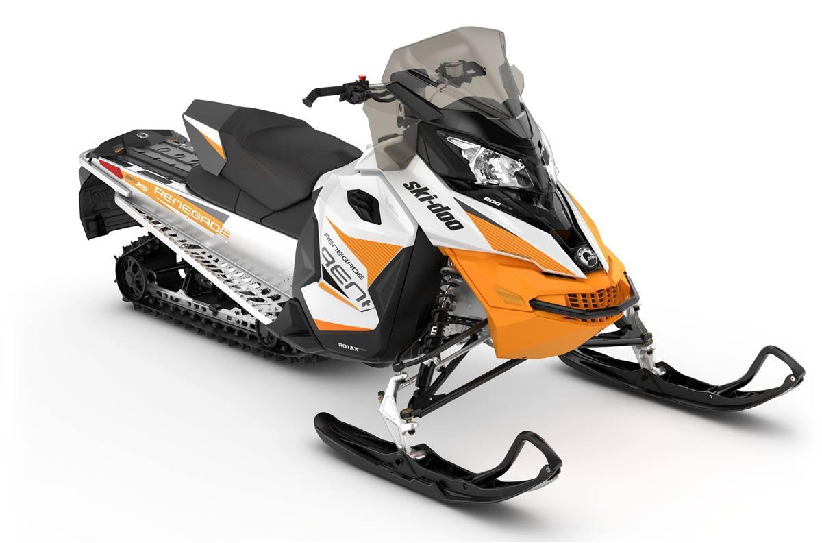 2019 Ski-Doo Renegade Sport 600 ACE White & Orange Crush
