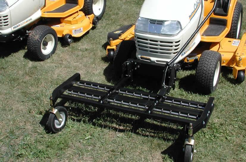 2018 Jrco Model 460 Series Garden Tractor Dethatcher 60