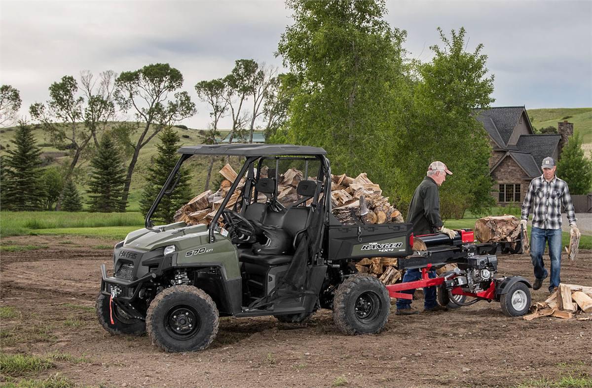 2019 Polaris Industries RANGER® 570 Full-Size - Sage Green