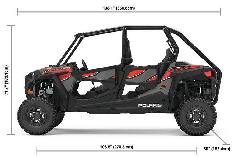 2019 Polaris Industries RZR® S4 1000 EPS - Titanium Metallic