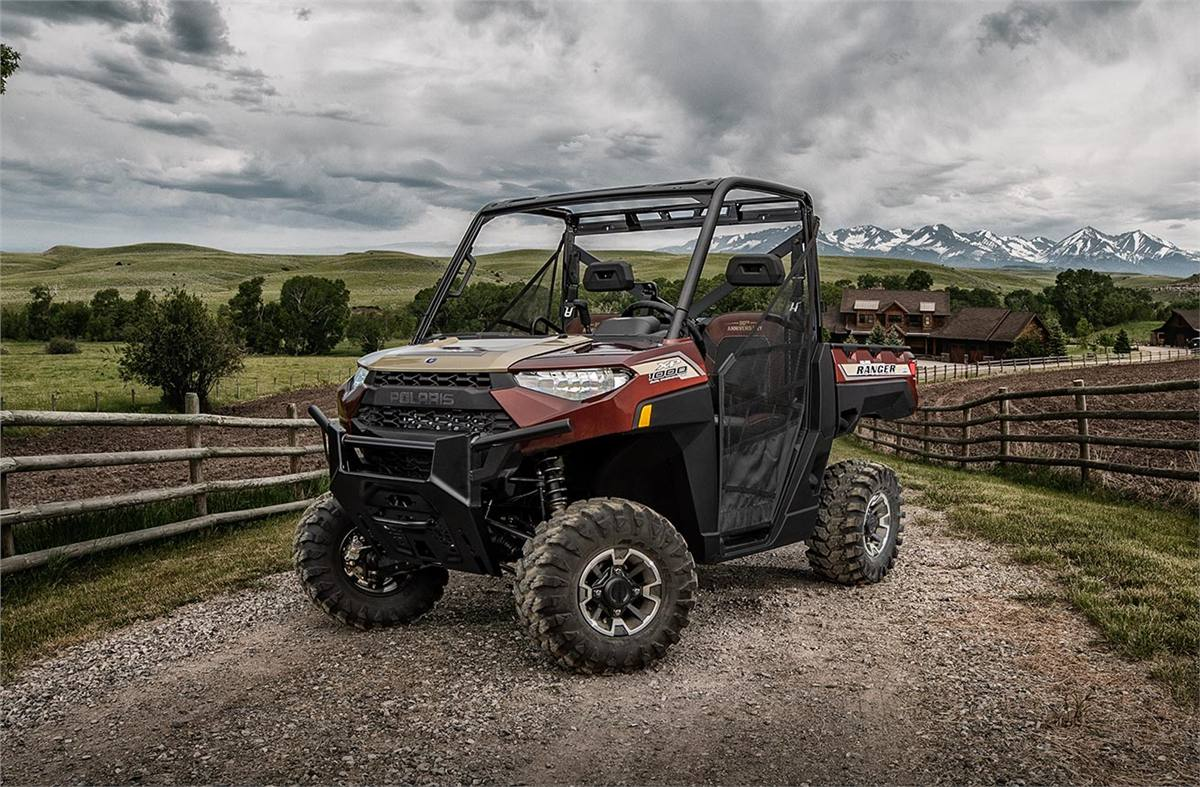 2019 Polaris Industries Ranger Xp 1000 Eps 20th Anniversary Le For Fuel Filter Location Stock Image